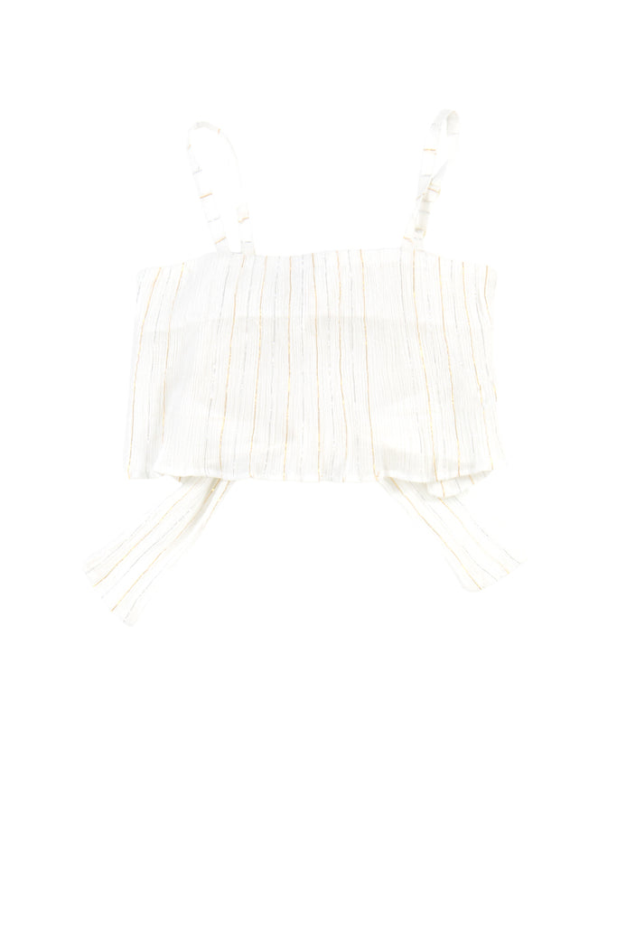 MAJKEN TOP - STRIPE LUREX