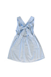 ISABEL DRESS IN BLUE STRIPES
