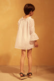LIBBY DRESS - WHITE EYELET