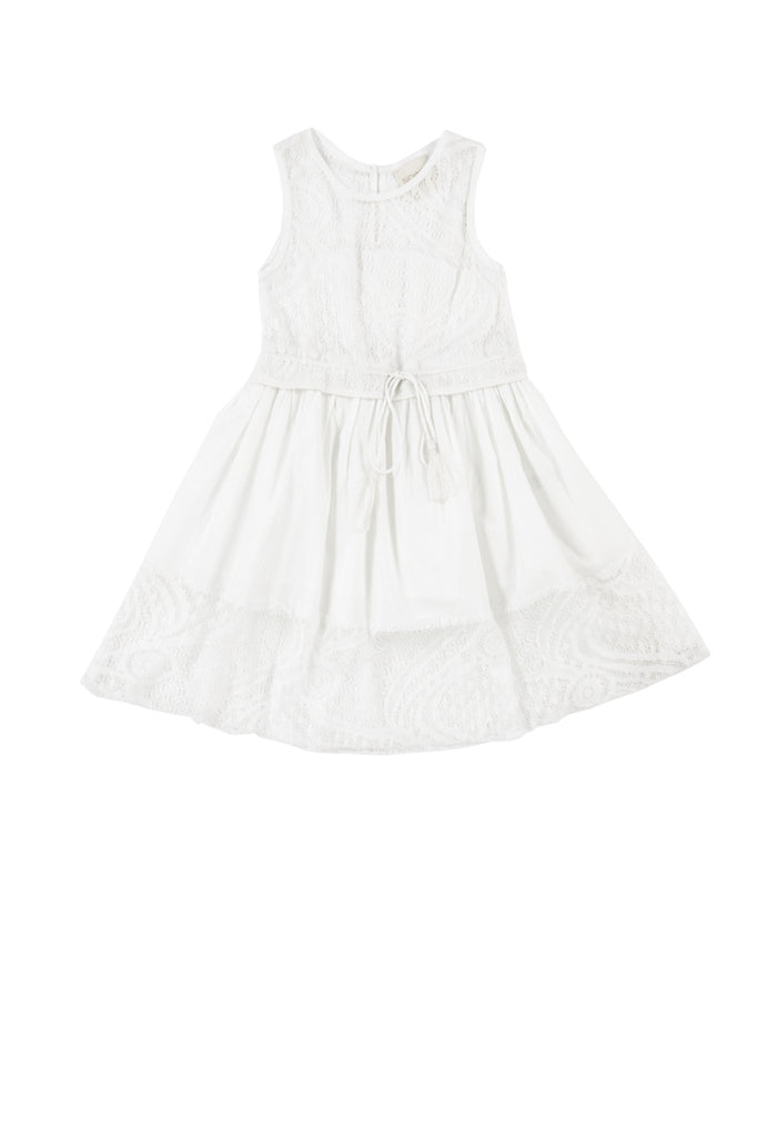 ELOISA DRESS - WHITE
