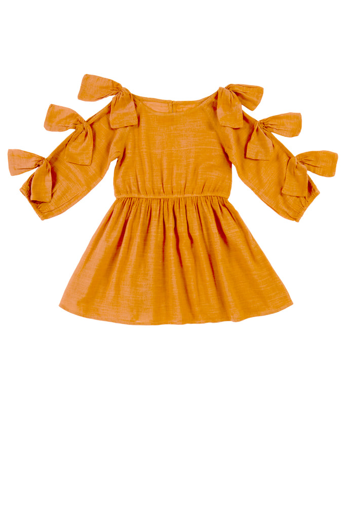 FRANCESCA DRESS - COPPER TAN