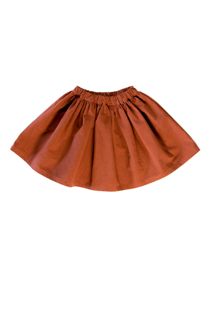 ZOEY SKIRT IN COPPER