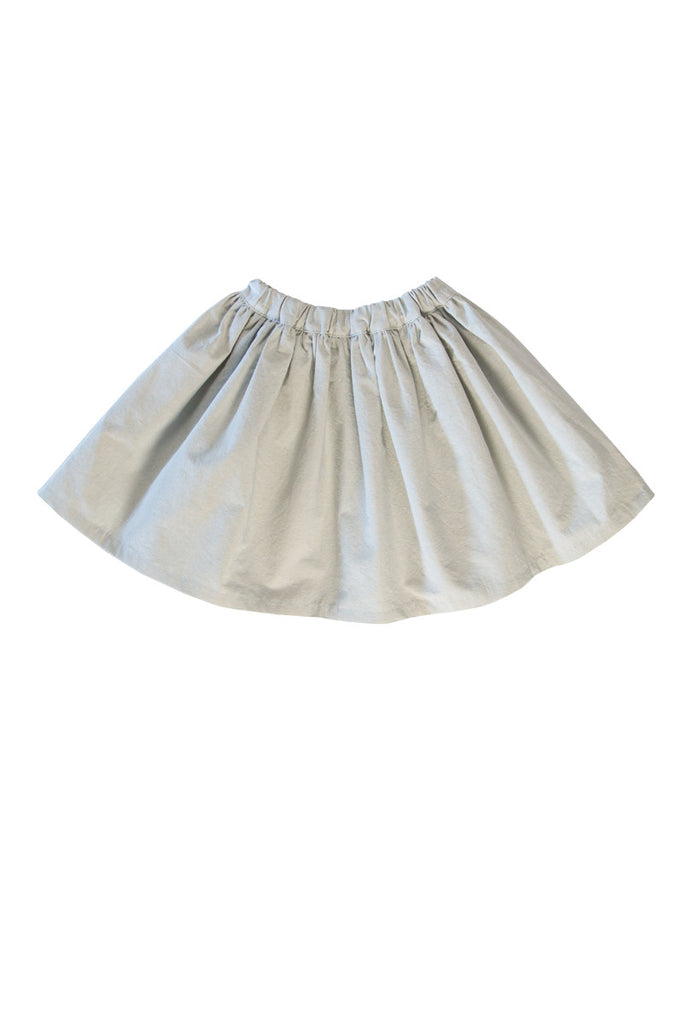 ZOEY SKIRT IN RAIN WASHED