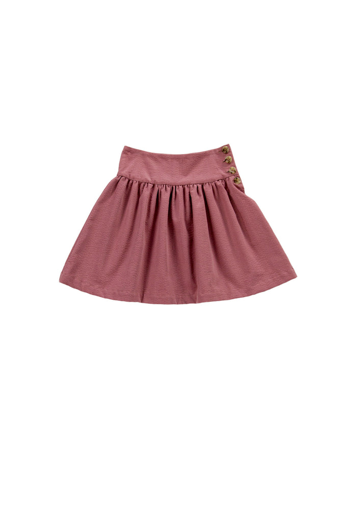 CELIA SKIRT IN DUSTY ROSE