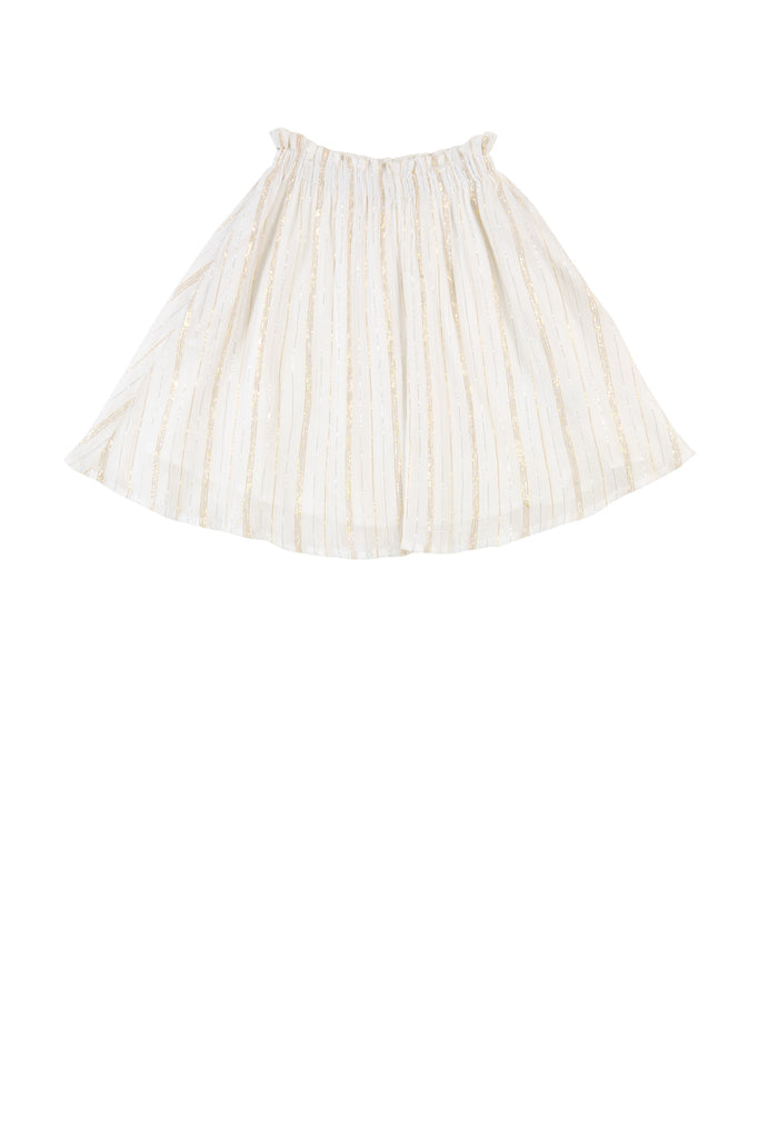 JORDANA SKIRT - STRIPE LUREX