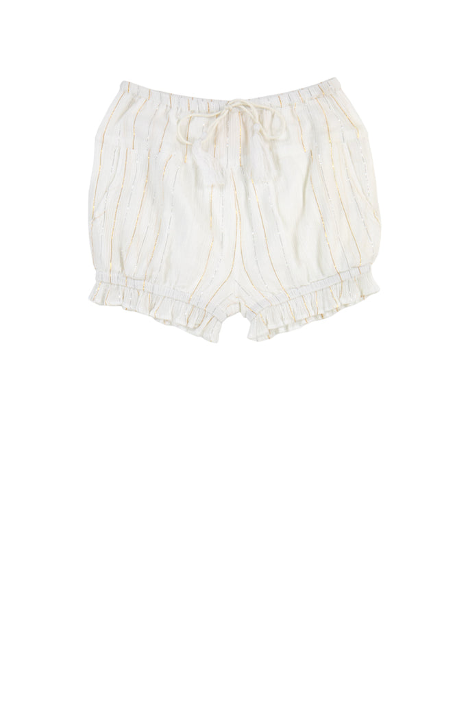 AAVA SHORTS - STRIPE LUREX