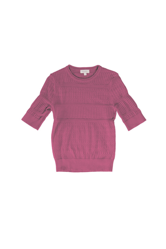 FABI SWEATER IN AZALEA