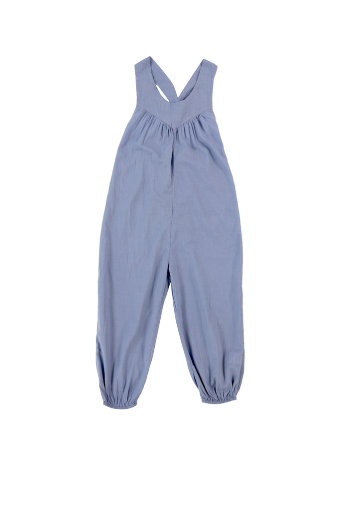 CAROLINA JUMPSUIT - BLUE HERON