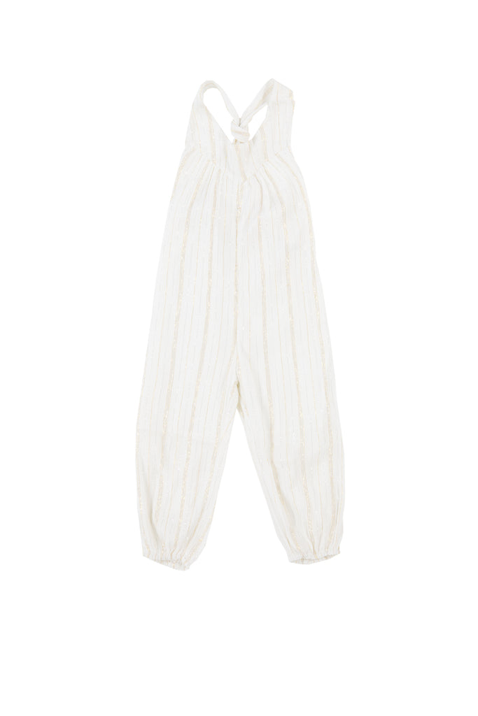 CAROLINA JUMPSUIT - STRIPE LUREX