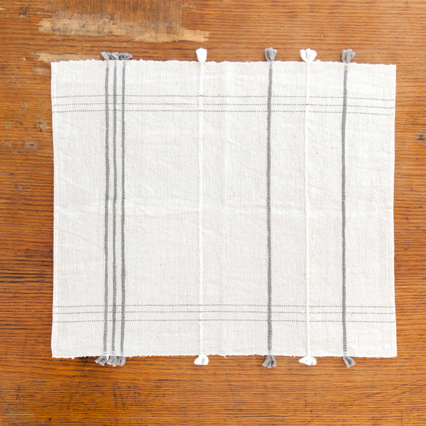 Grey Ribbons Placemat