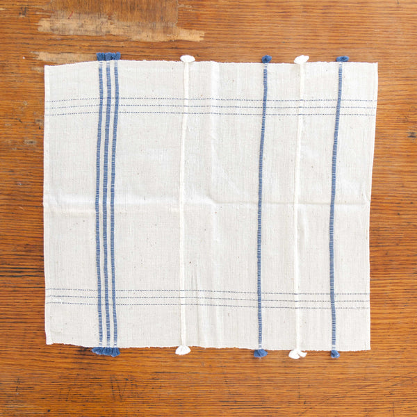Navy Ribbons Placemat