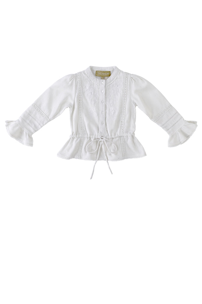 VICTORIA BLOUSE - WHITE
