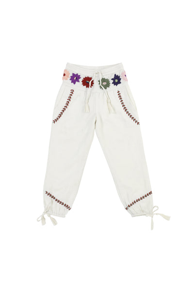 AUDRA PANTS - OFF WHITE