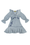 IONE DRESS - FADED INDIGO