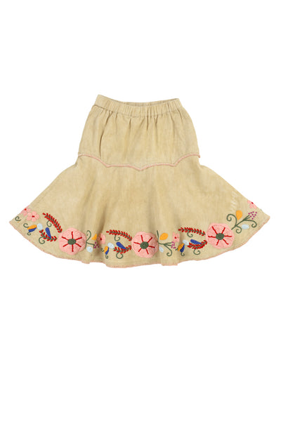 ELBA SKIRT - WHEAT