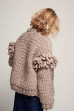 WAVERLY SWEATER - TAUPY PINK