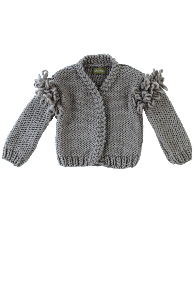 WAVERLY SWEATER - GREY