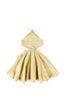 ANNIKA DRESS - YELLOW STRIPE