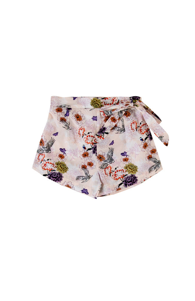 LINN SHORTS - CHINESE SWAN