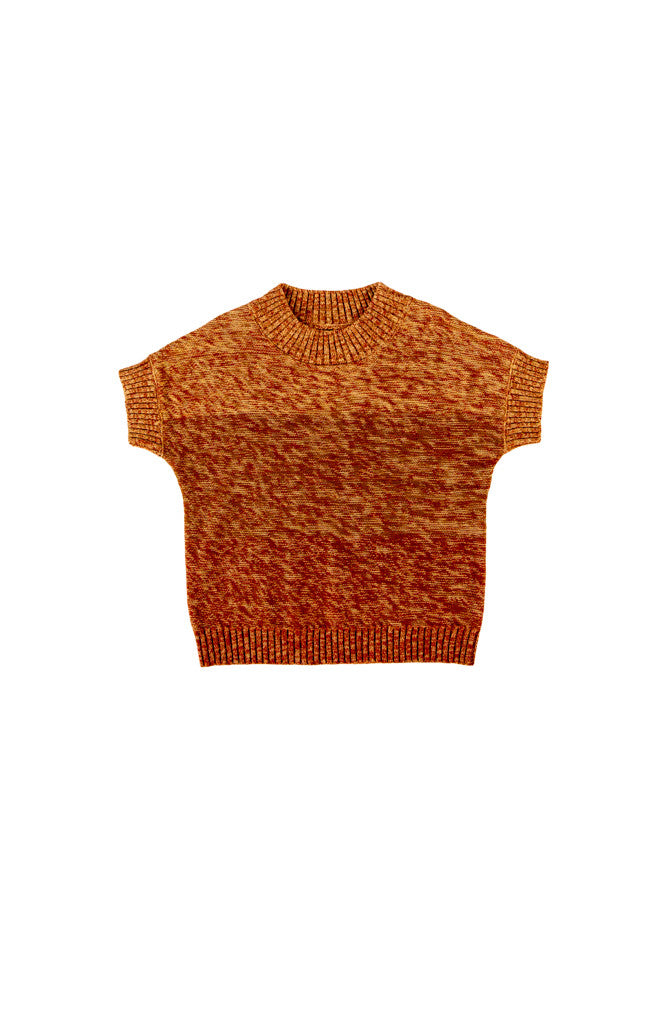 QUINN TOP - ORANGE GRADATION