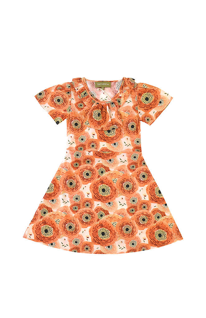 JOLINE DRESS - POPPIES