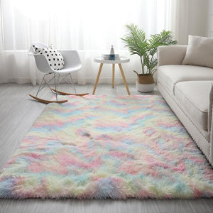 Colorful Shaggy Carpet
