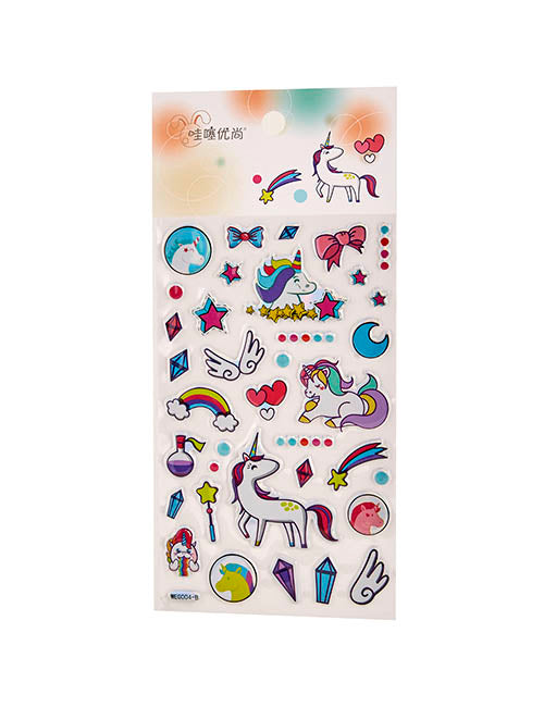 STICKERS UNICORNIOS VARIOS