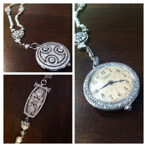 Important Cartier Pocket Watch Best Restorations Boston Jewelry
