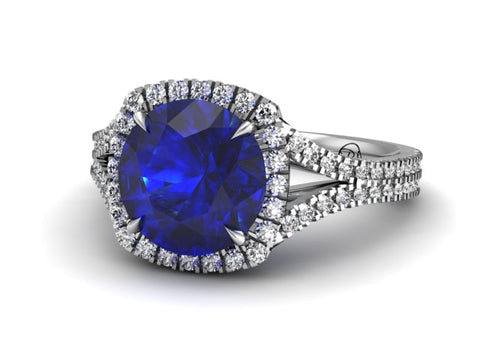 Bostonian Abigail - Custom Engagement Ring