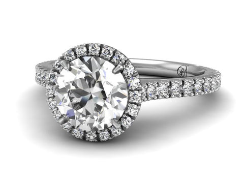 Bostonian Adrianne - Custom Engagment Ring