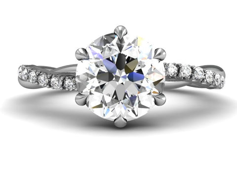 Bostonian Alyssa - Custom Engagement Ring