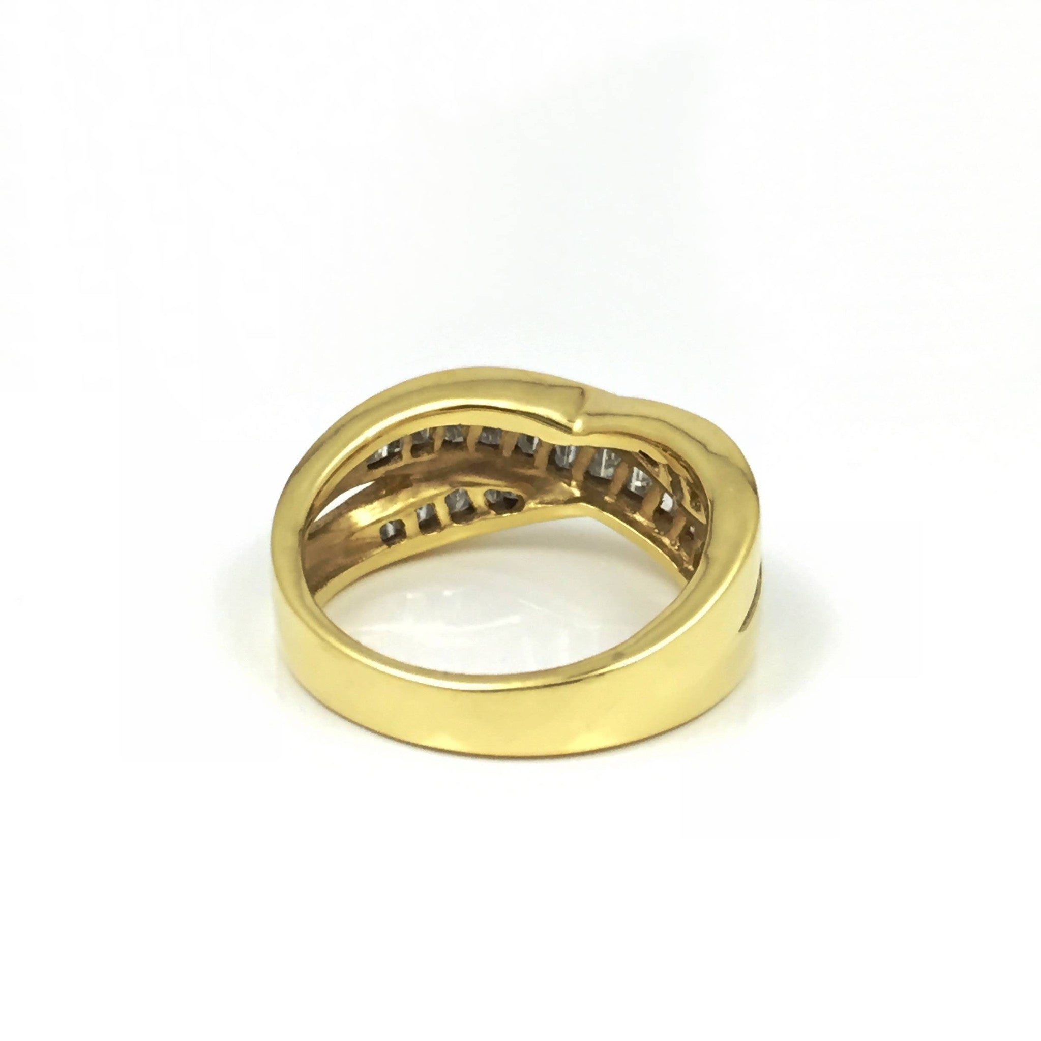 ring enamel white bands icon gucci gold