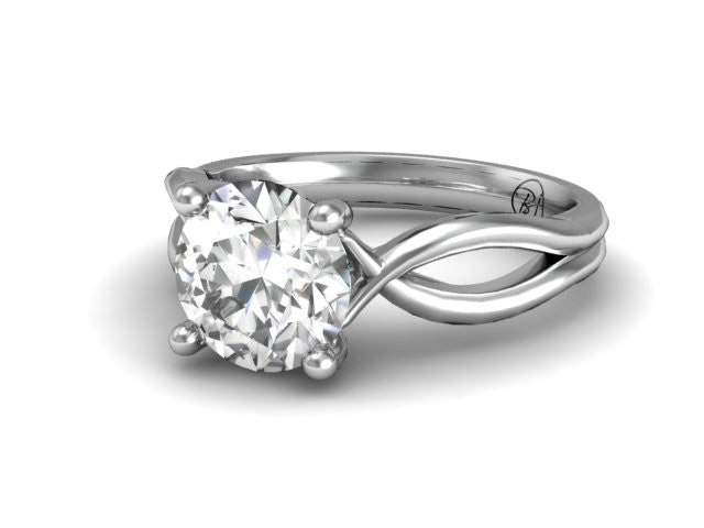 Bostonian Abilene | Solitaire Engagement Ring | Platinum | Bostonian Jewelers