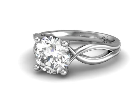 Bostonian Abilene - Custom Engagement Ring