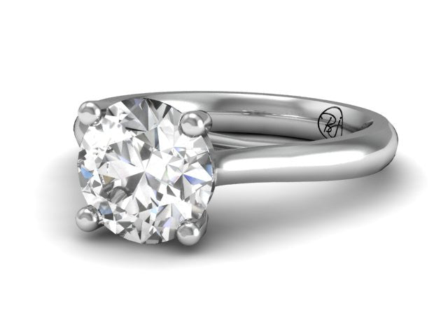 Entwine Classic Solitaire Engagement Ring