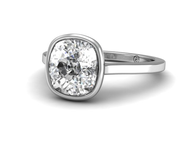 Bostonian Modern Solitaire Engagement Ring