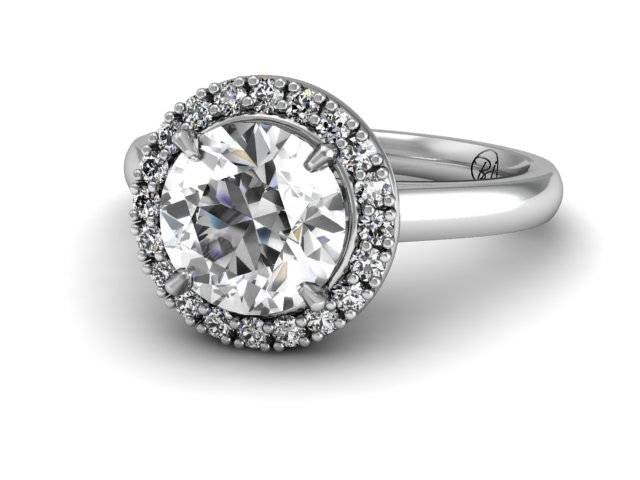 Bostonian Oleana Custom Engagement Ring