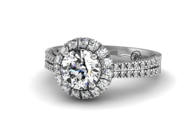Bostonian Olivia - Custom Engagement Ring