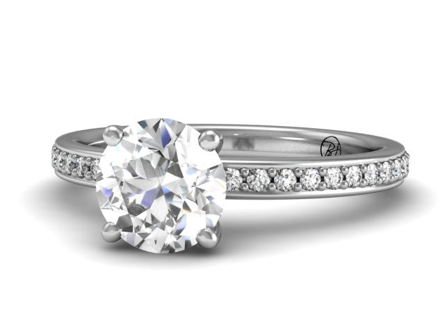 Bostonian Brighton - Classic Engagement Ring