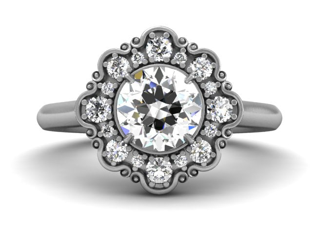 Bostonian Charlotte - Custom Engagement Ring