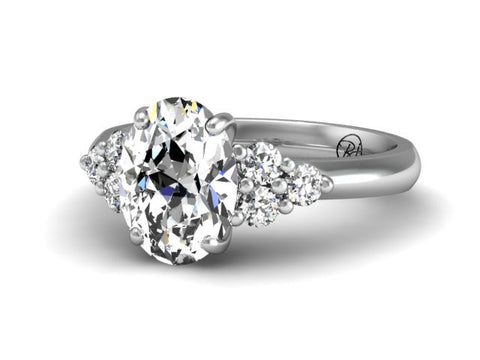 Bostonian Delana Engagement Ring for Oval
