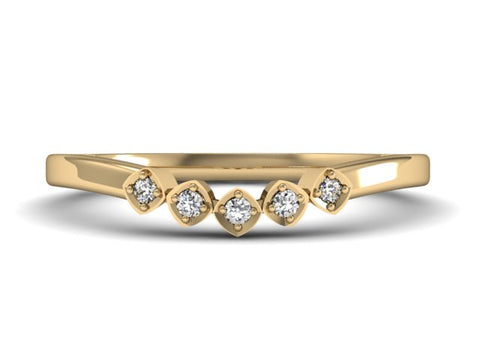 Contentment - Stacking Ring