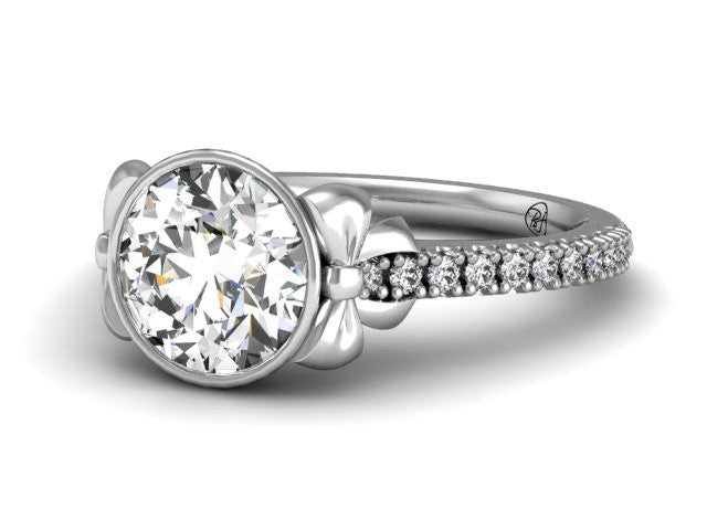 Bostonian Bow - Unique Engagement Ring