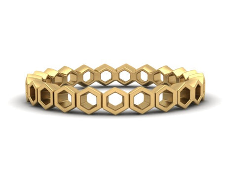 Honeycomb Stacking Band
