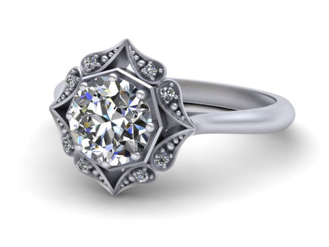 Bostonian Lila Engagement Ring