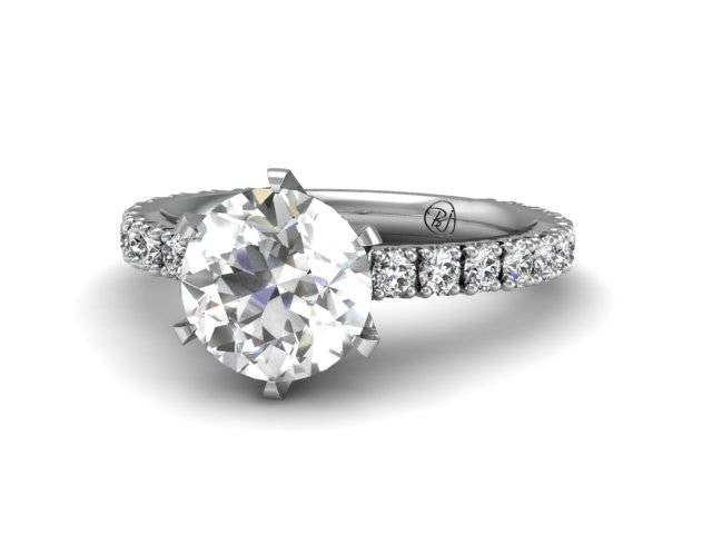 Bostonian Pave Solitaire