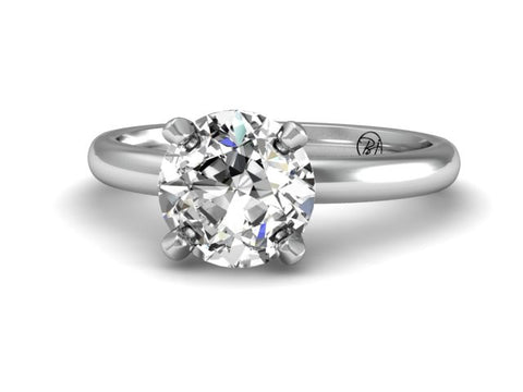 Bostonian Ponte Custom Taper Engagement Ring