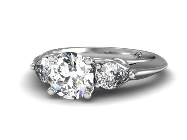 Bostonian Vines Engagement Ring