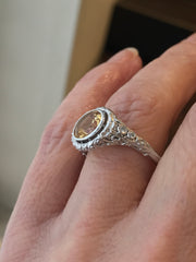 Elven Custom Engagement Ring