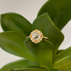 Bostonian Lila with Moissanite